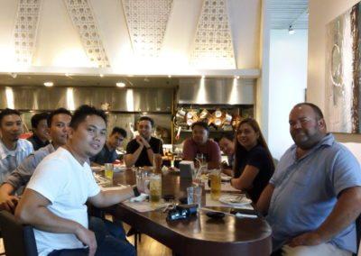 Dash10 Lunch In Vikings SM Lanang